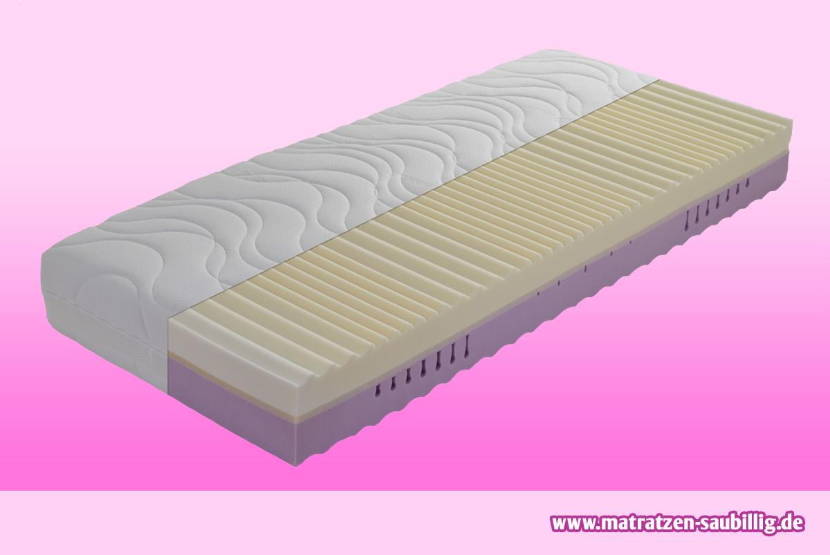 thermoelastische 7 zonen viscose visco kaltschaum matratze. Black Bedroom Furniture Sets. Home Design Ideas