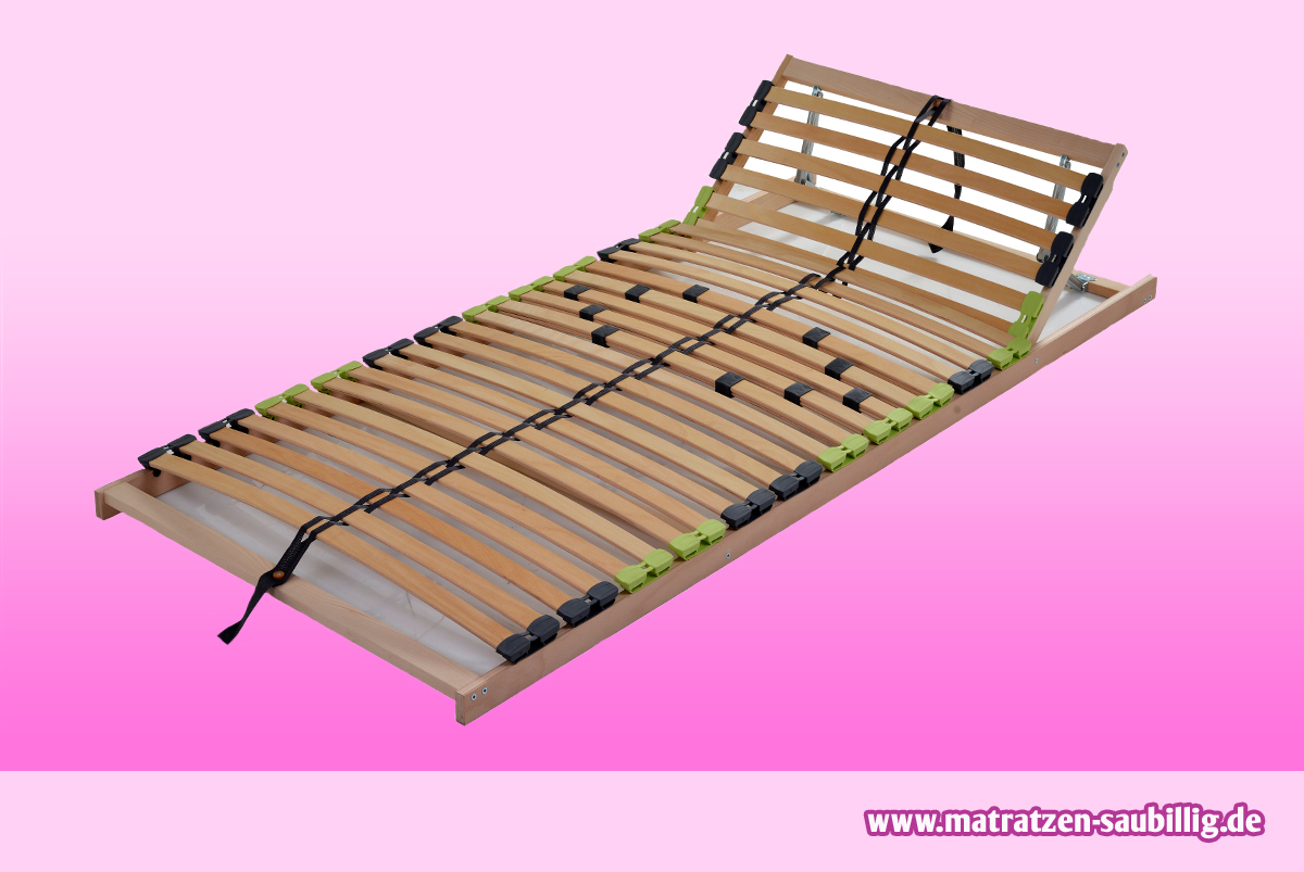 7 zonen buche lattenrahmen lattenrost 120 x 200 120x200. Black Bedroom Furniture Sets. Home Design Ideas
