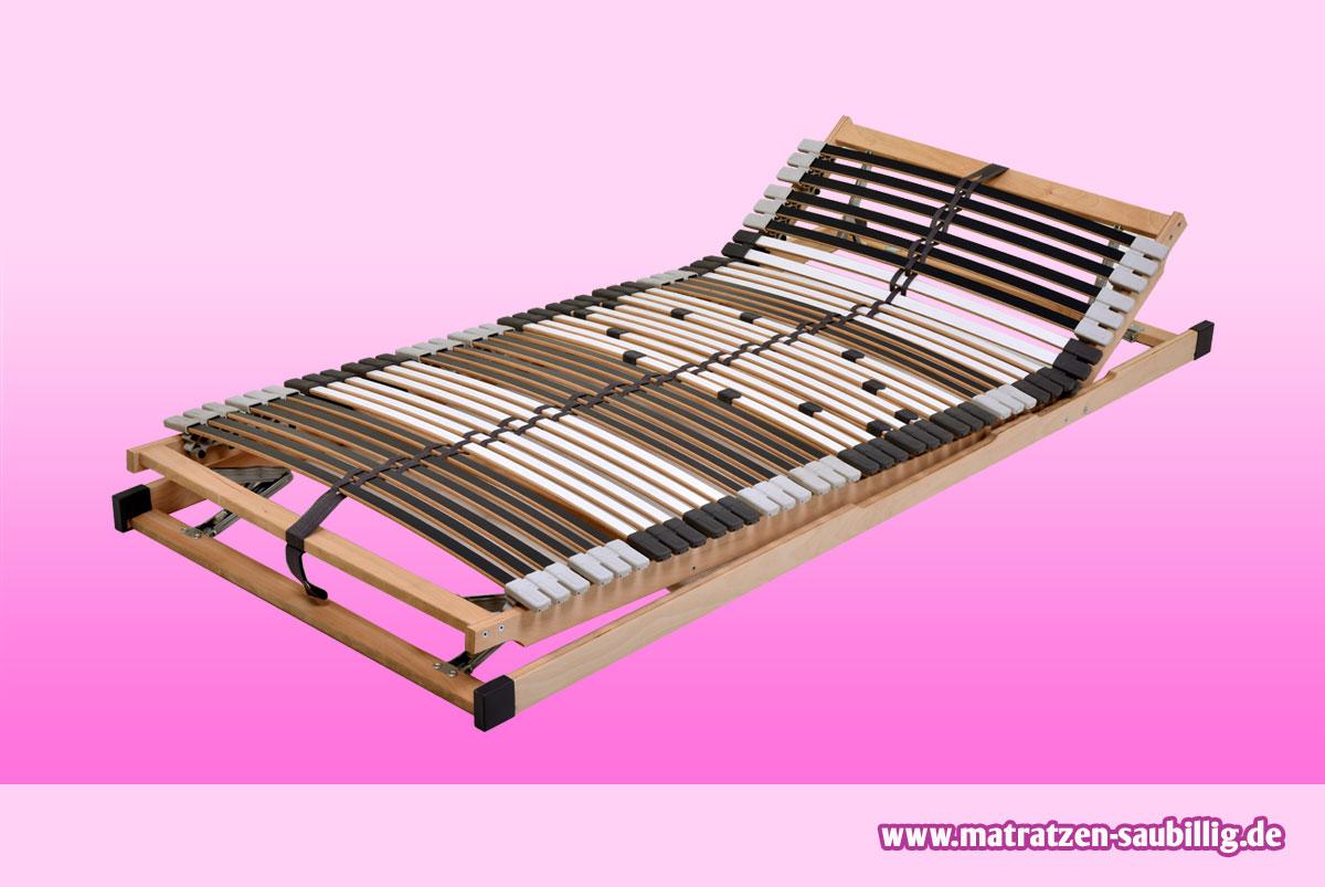7 zonen lattenrost 80x200 cm dami mediflex t200 mit kopf fu verstellung. Black Bedroom Furniture Sets. Home Design Ideas